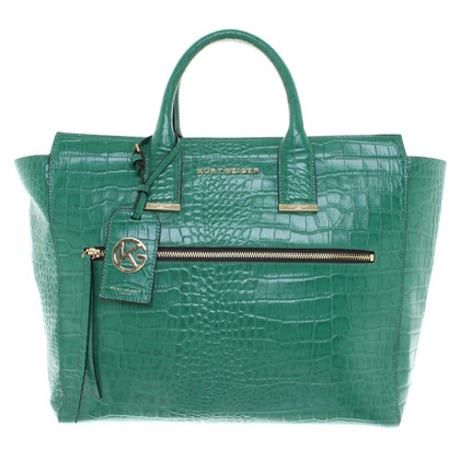 Kurt Geiger Shoppers in green