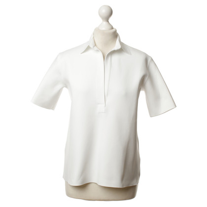 Helmut Lang Poloshirt wit