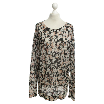 Dorothee Schumacher Cashmere sweater with floral pattern