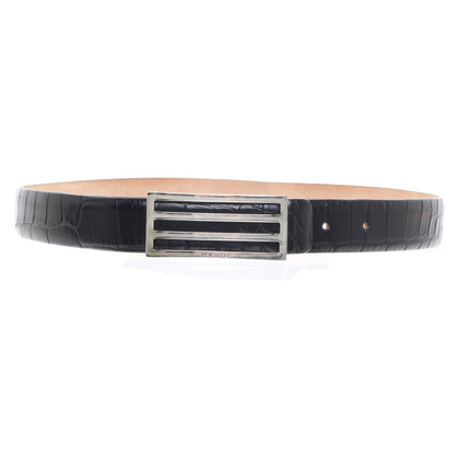 Akris Belt made of alligator leather