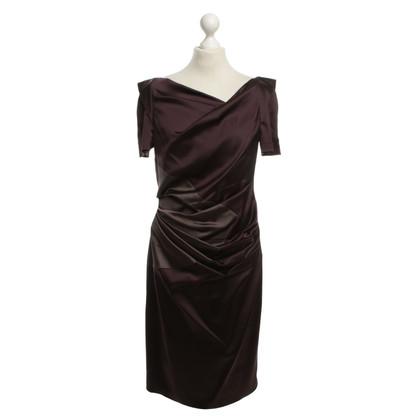 Talbot Runhof Patchwork look dress