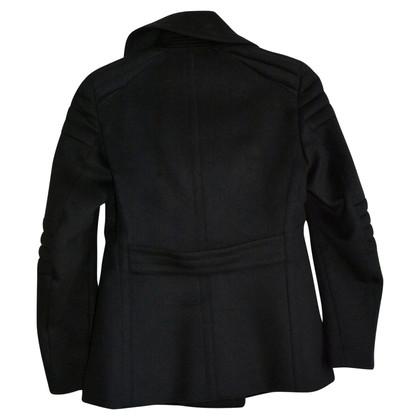 Belstaff Black coat made of cashmere mix