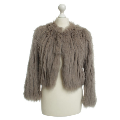 Dorothee Schumacher Blue fox fur jacket