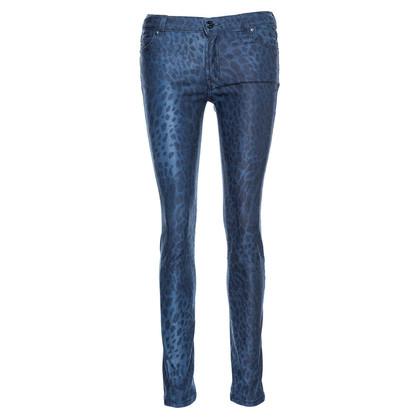 Hugo Boss Leo-print jeans