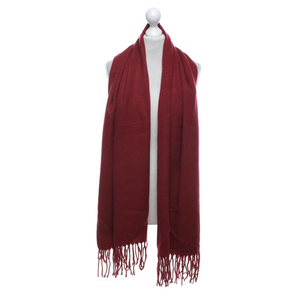 Acne Scarf in red