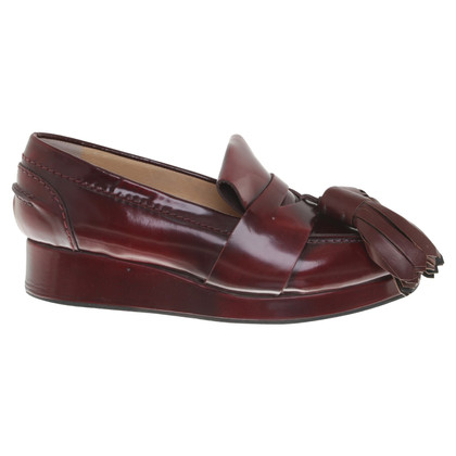 Acne Slipper in Bordeaux