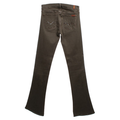 7 For All Mankind Jeans met uitlopende benen