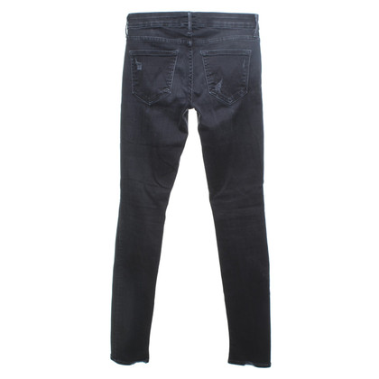 Mother Jeans in zwart