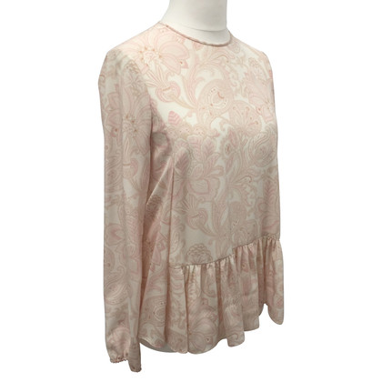 Stella McCartney Silk top with paisley pattern