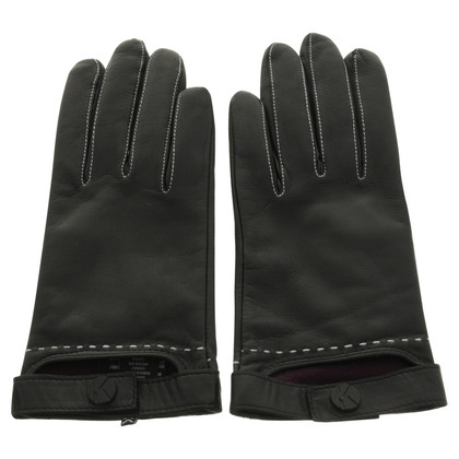 Karl Lagerfeld Leather gloves