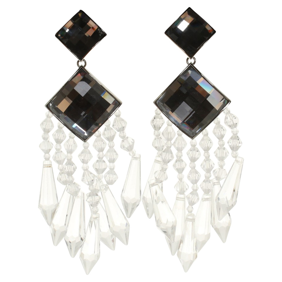 Balmain X H&M Clip earrings in chandelier optics