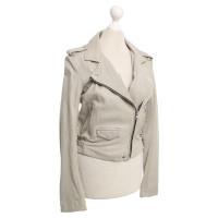 Iro Leather jacket in beige
