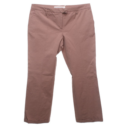 Schumacher pantaloni Capri in marrone