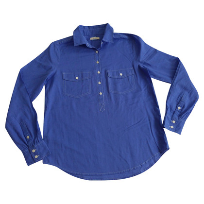 J. Crew Blouse blue in violet