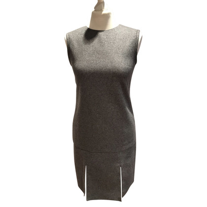 Alexander McQueen Sleeveless wool dress