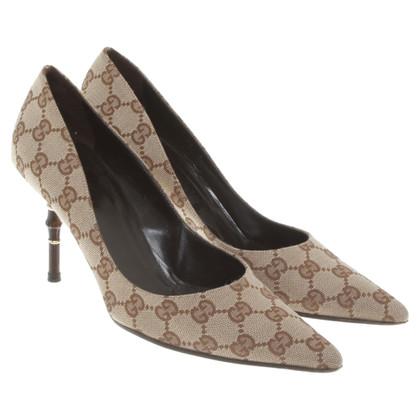 Gucci pumps met Guccissima patronen