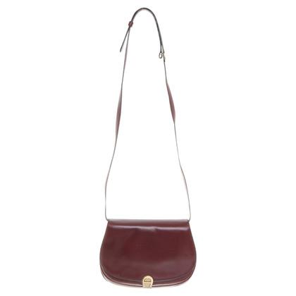 Aigner Shoulder bag in Bordeaux
