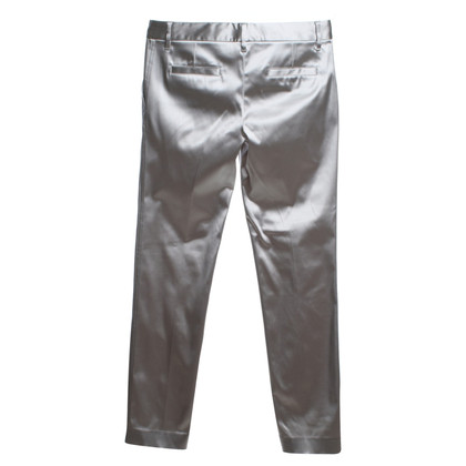 Dolce & Gabbana trousers in silver colors