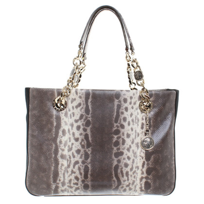 Bulgari Reptile leather handbag