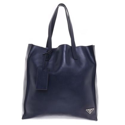 Prada Shopper in dark blue