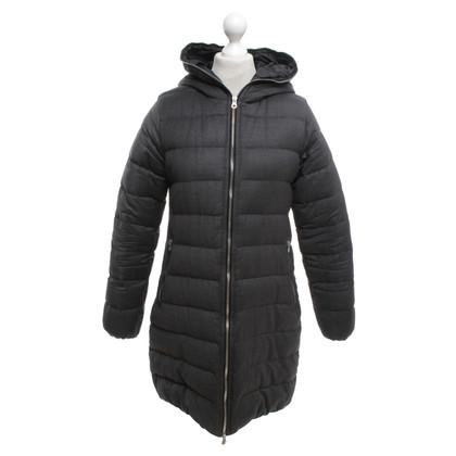 Duvetica Giù cappotto in grigio