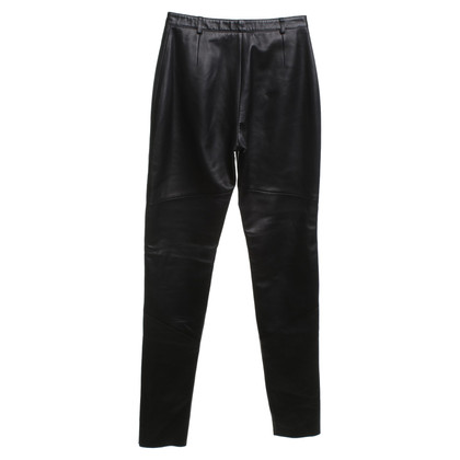 St. Emile Leather pants in black