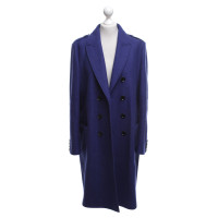Burberry Cappotto in Royal Blue