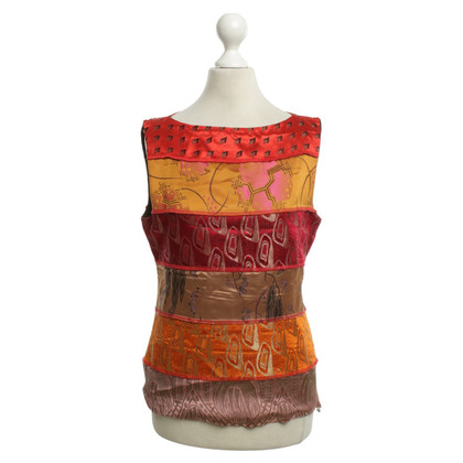 Jean Paul Gaultier Top met patroon