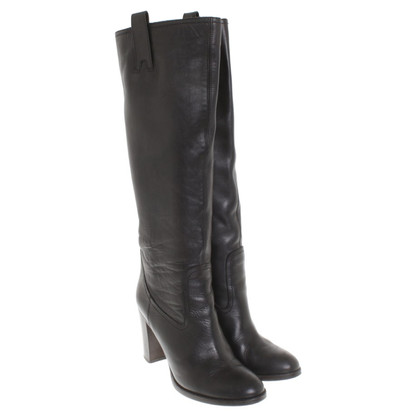 L'autre Chose Boots in black