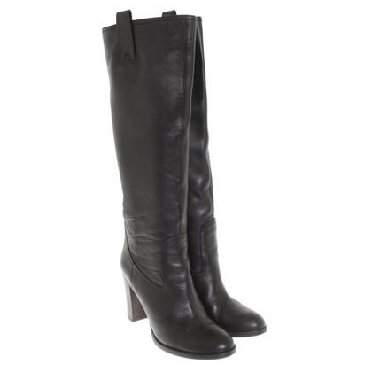 L'autre Chose Boots in zwart