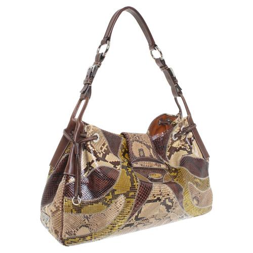 Prada Snake leather handbag - Second Hand Prada Snake leather ... 313c3c69da77d