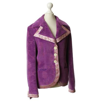 Etro Blazer in Violett