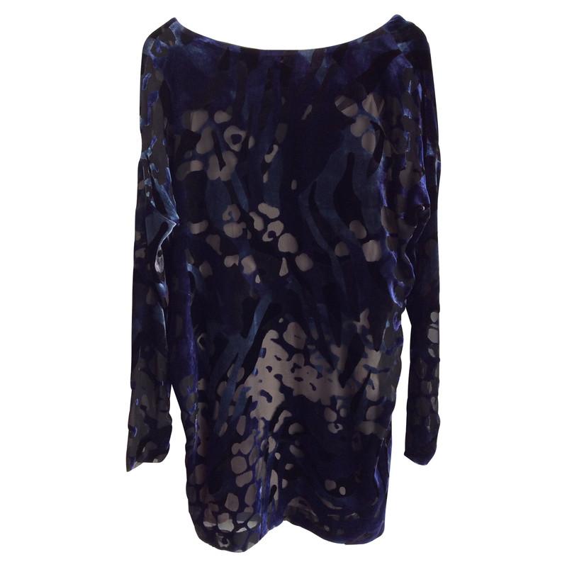 dorothee schumacher robe de velours bleu acheter dorothee schumacher robe de velours bleu. Black Bedroom Furniture Sets. Home Design Ideas