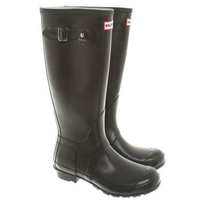 Hunter Rubber boots in brown
