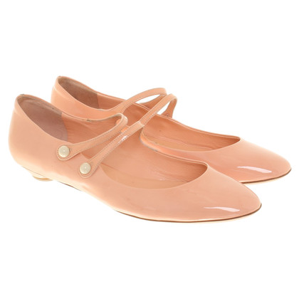 Miu Miu Ballerinas in blush pink