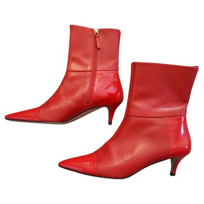 Hugo Boss rote Schuhe