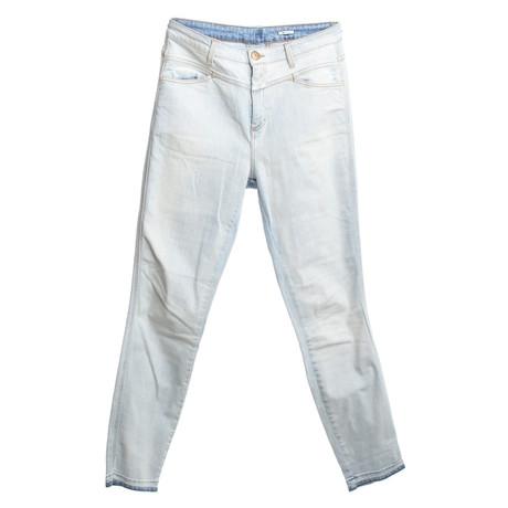 Closed Jeans mit Waschung Blau