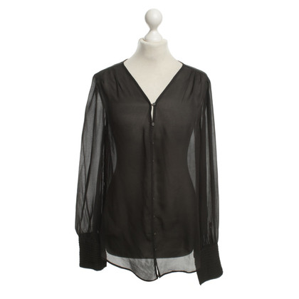Elizabeth & James Blouse in dark gray