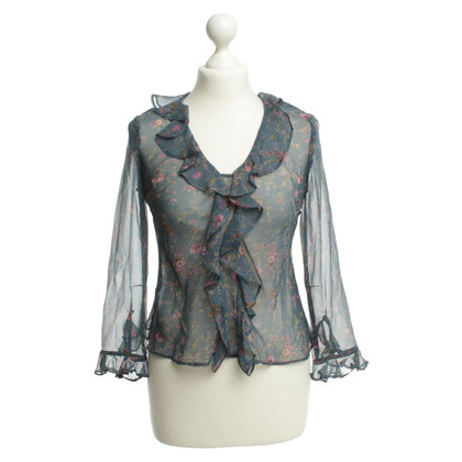 Anna Sui Blouse with floral print
