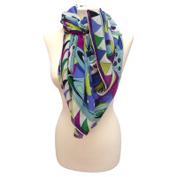 Emilio Pucci Silk scarf with print