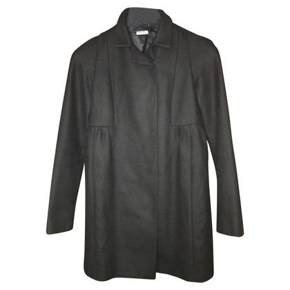 Miu Miu Wool black coat from Miu Miu
