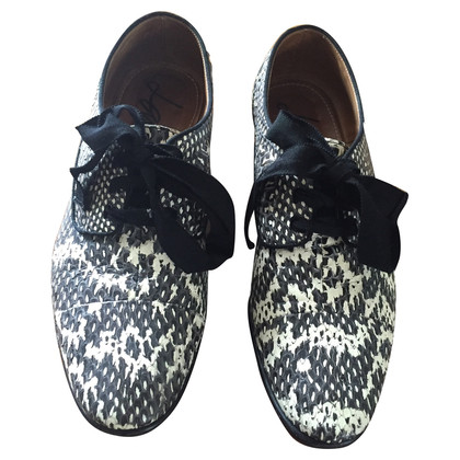 Lanvin Snake derby shoes
