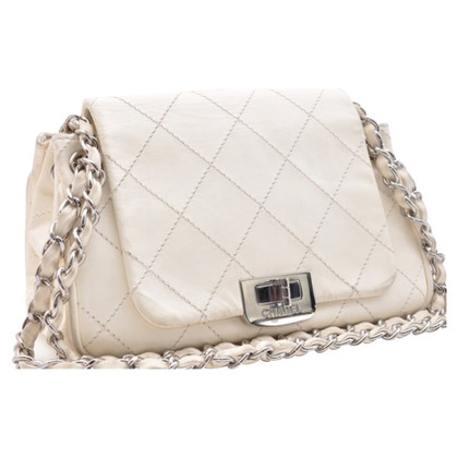 Chanel Flap Bag in bianco