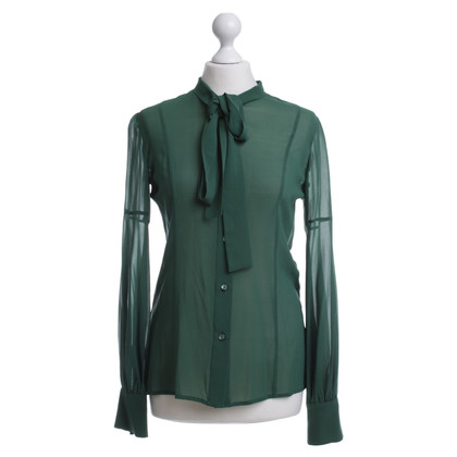 Red Valentino Silk blouse Green