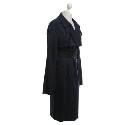 Yves Saint Laurent Trenchcoat in blauw