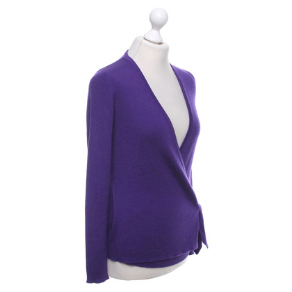 Escada Cardigan in purple