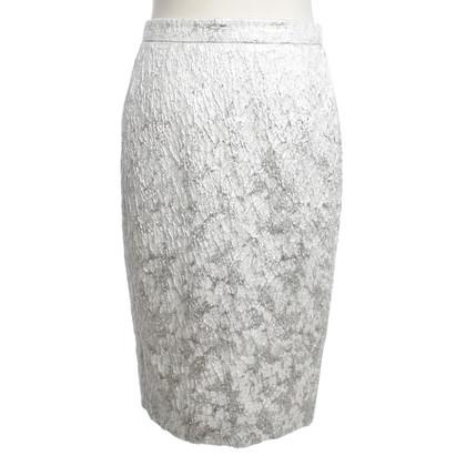 L.K. Bennett Silver colored skirt