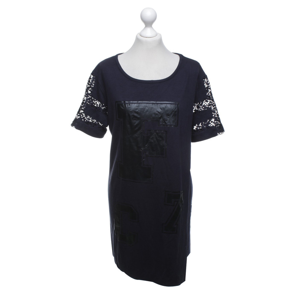 French Connection Langes Shirt in Blau