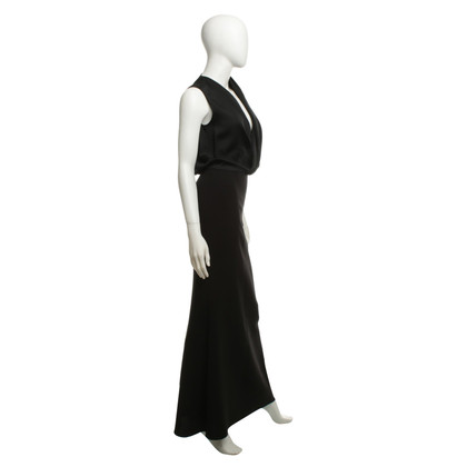 Victoria Beckham Long evening dress in black