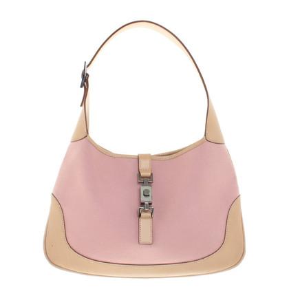 Gucci Shoulder Bag in Rose / Beige